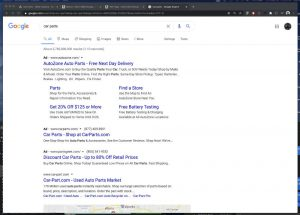 SEO - Search Engine Optimization - Google SERP