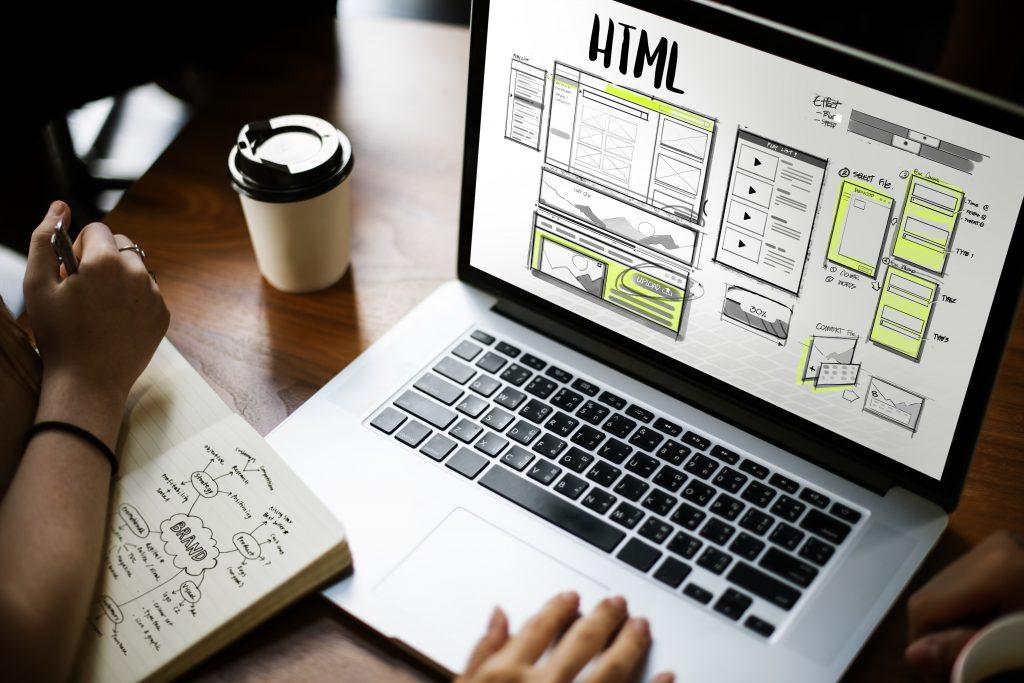 Website Development Layout Process